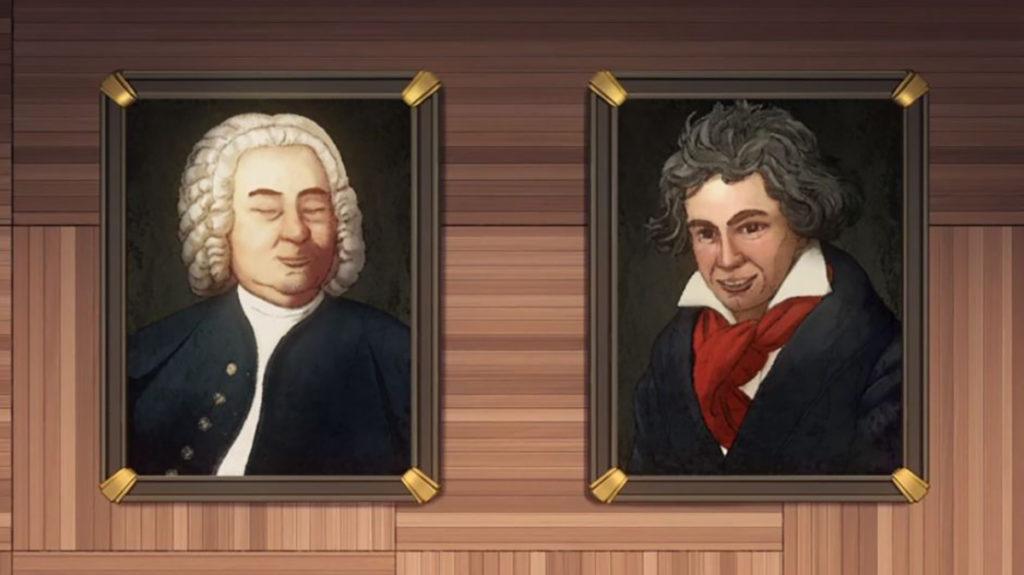 ほほえむバッハとベートーヴェン
