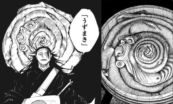 呪術のうずまきと伊藤潤二さんのうずまきの比較