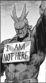 オールマイト I AM NOT HERE